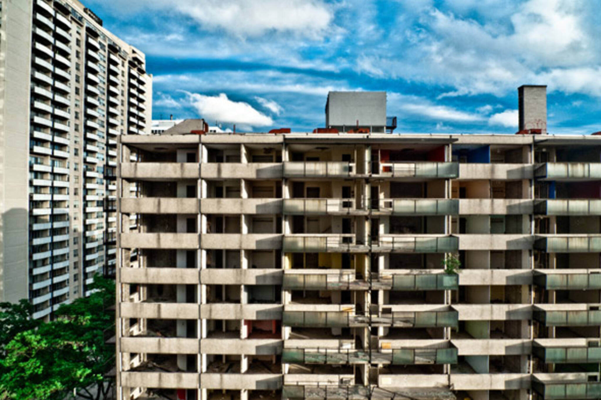 Tweedsmuir Apartment demolition
