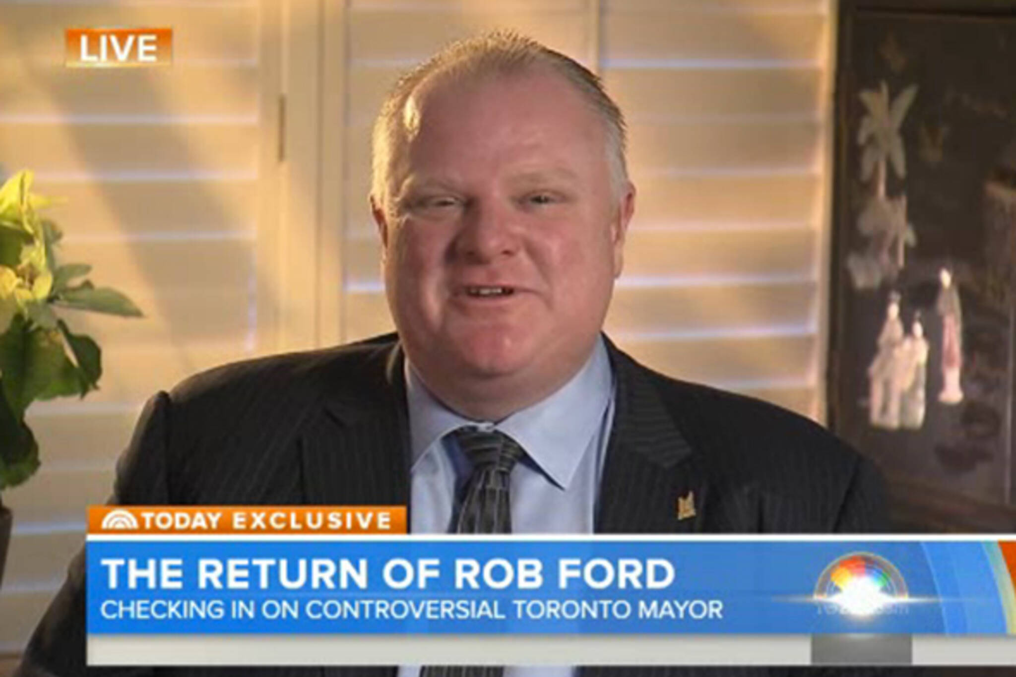 Rob Ford Today Show