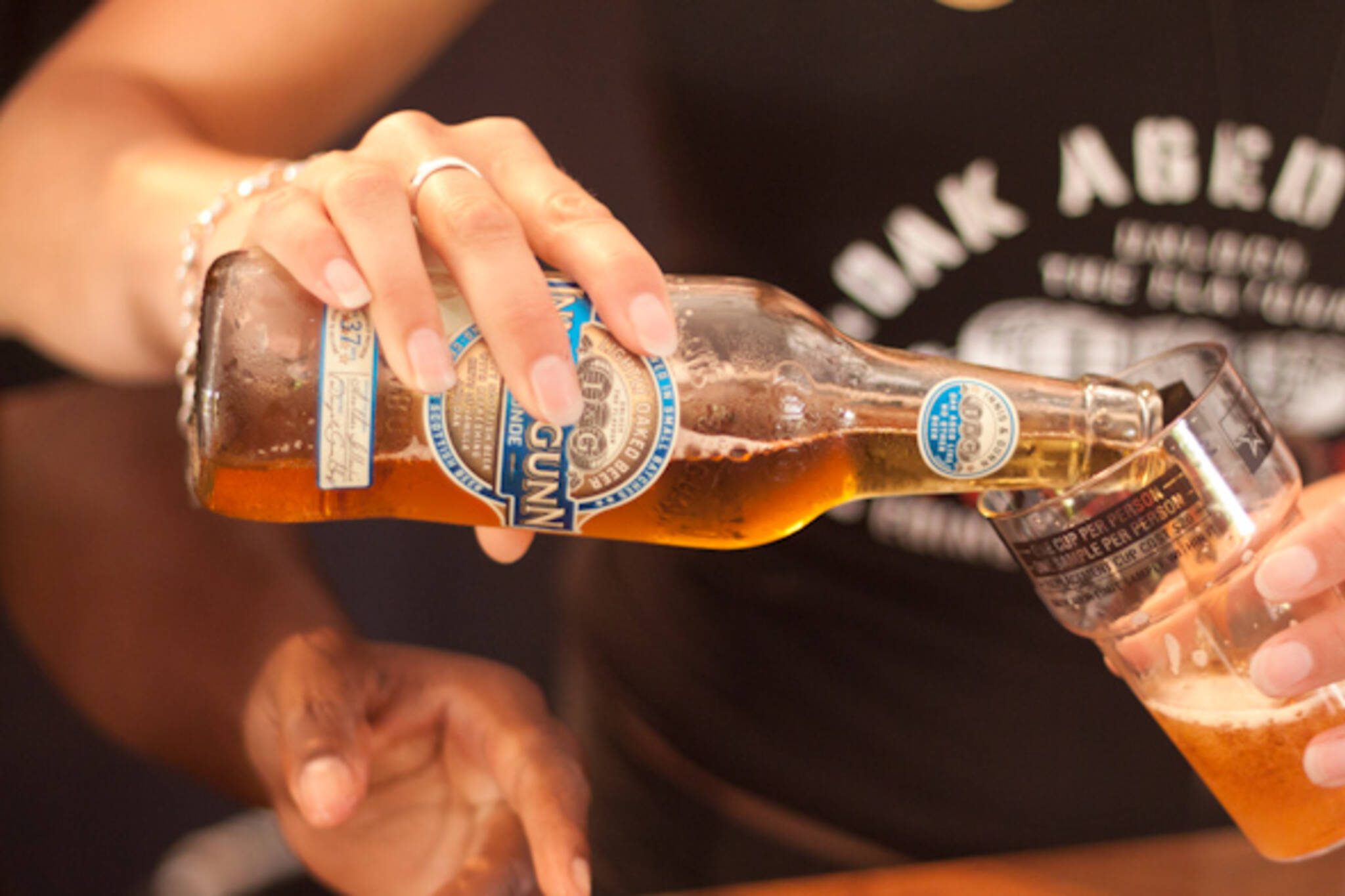 women drinking toronto