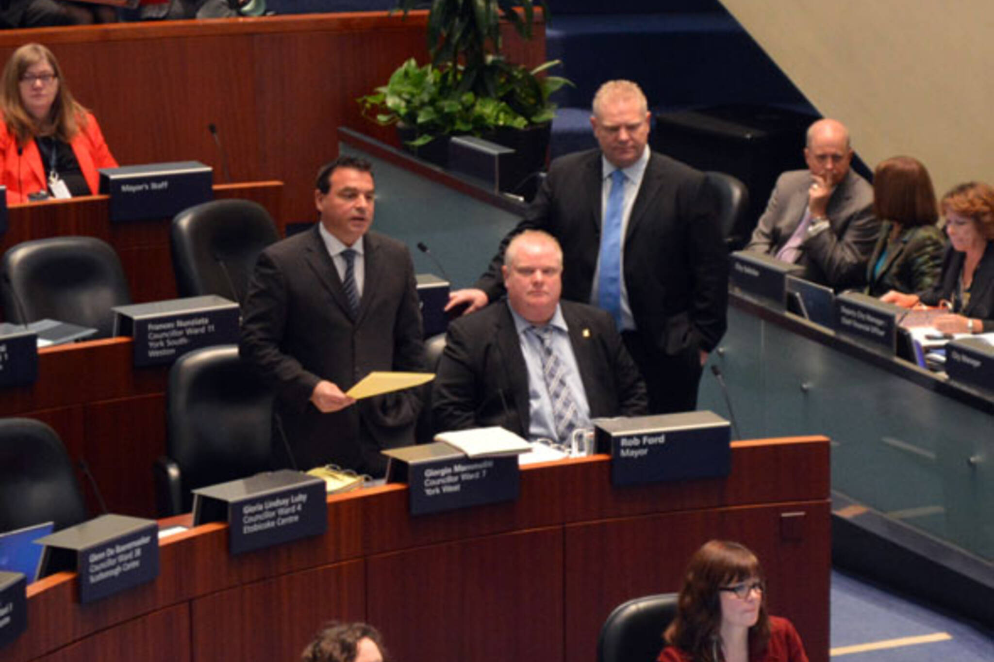rob ford council