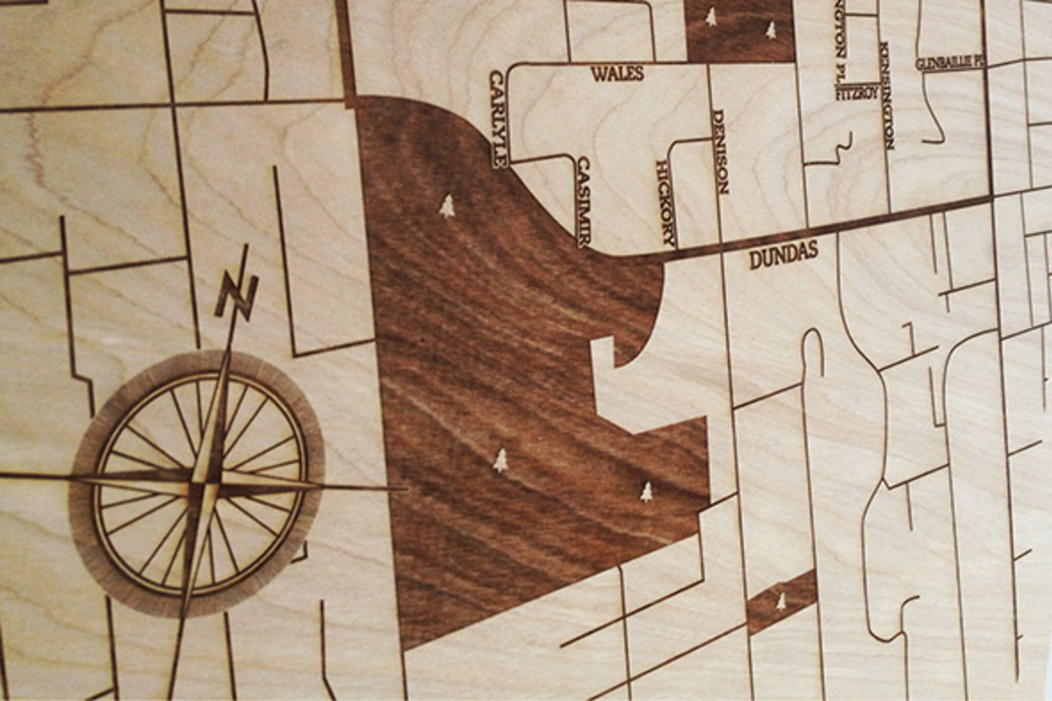 Urbanwood Maps Toronto