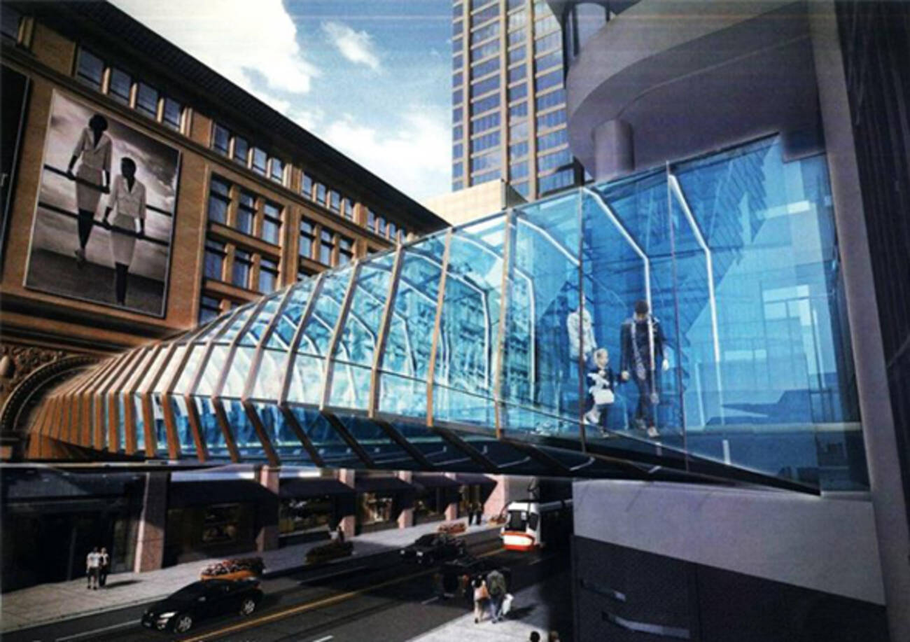 Eaton Centre Skybridge To Get Extreme Makeover