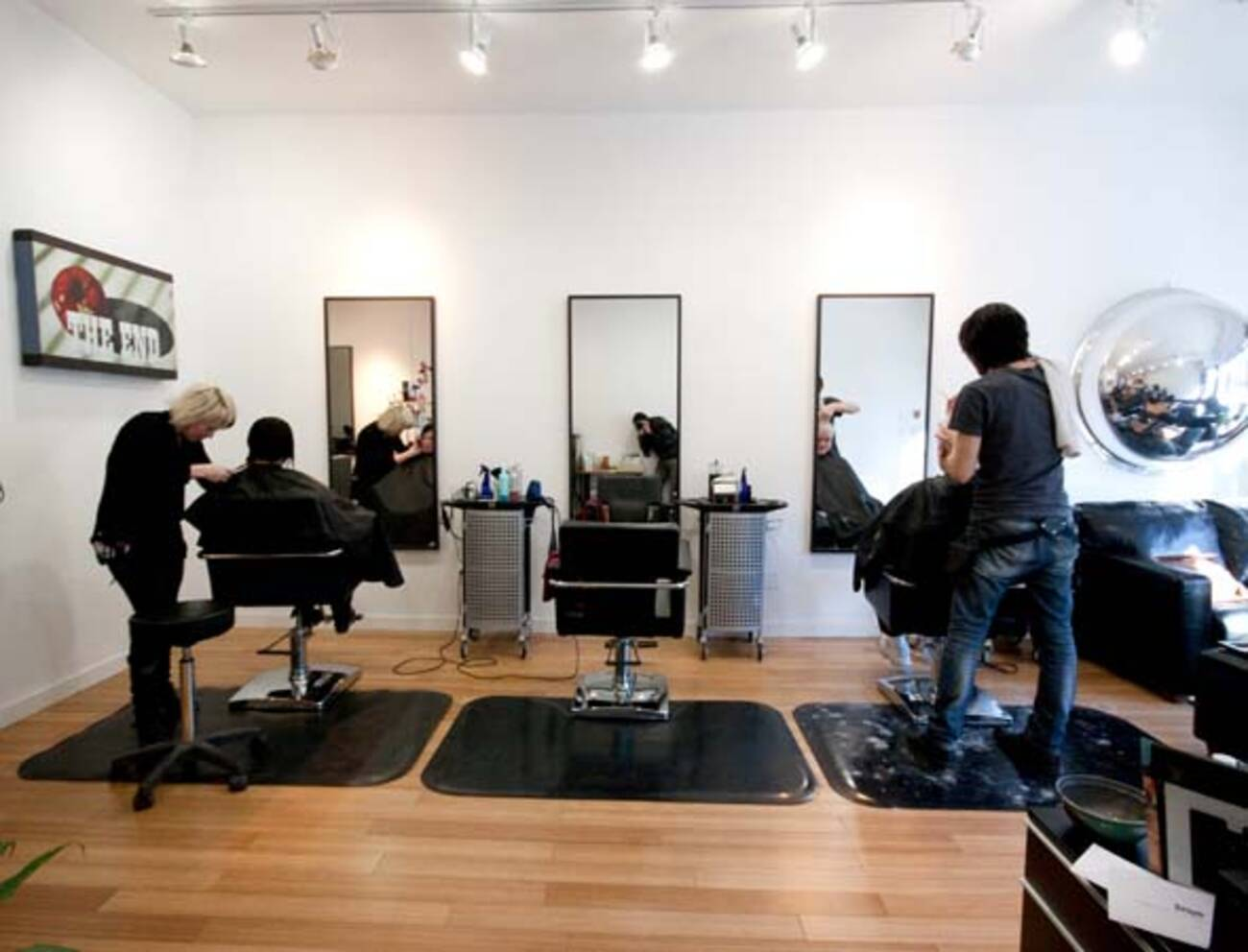 Upscale hair salon opens near college and dufferin for Hair salons open near me