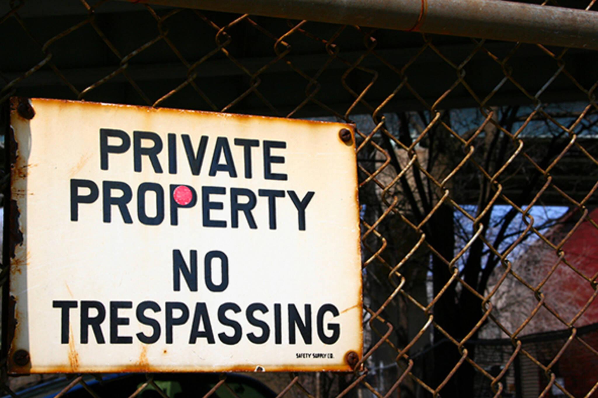 Private property toronto