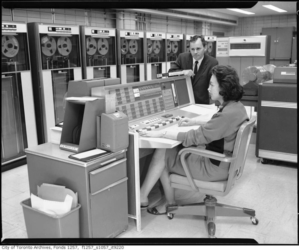Vintage computers Toronto TTC CBC