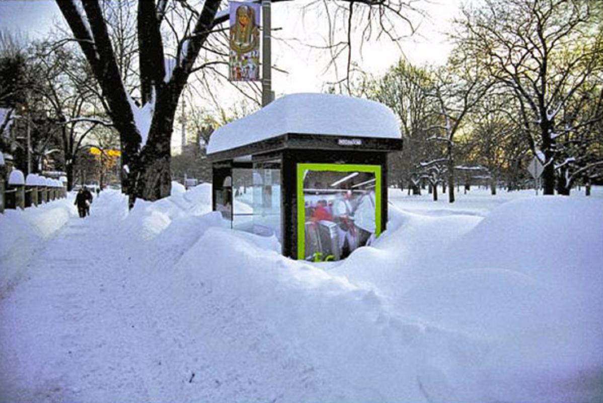 Toronto Snow Storm 1999