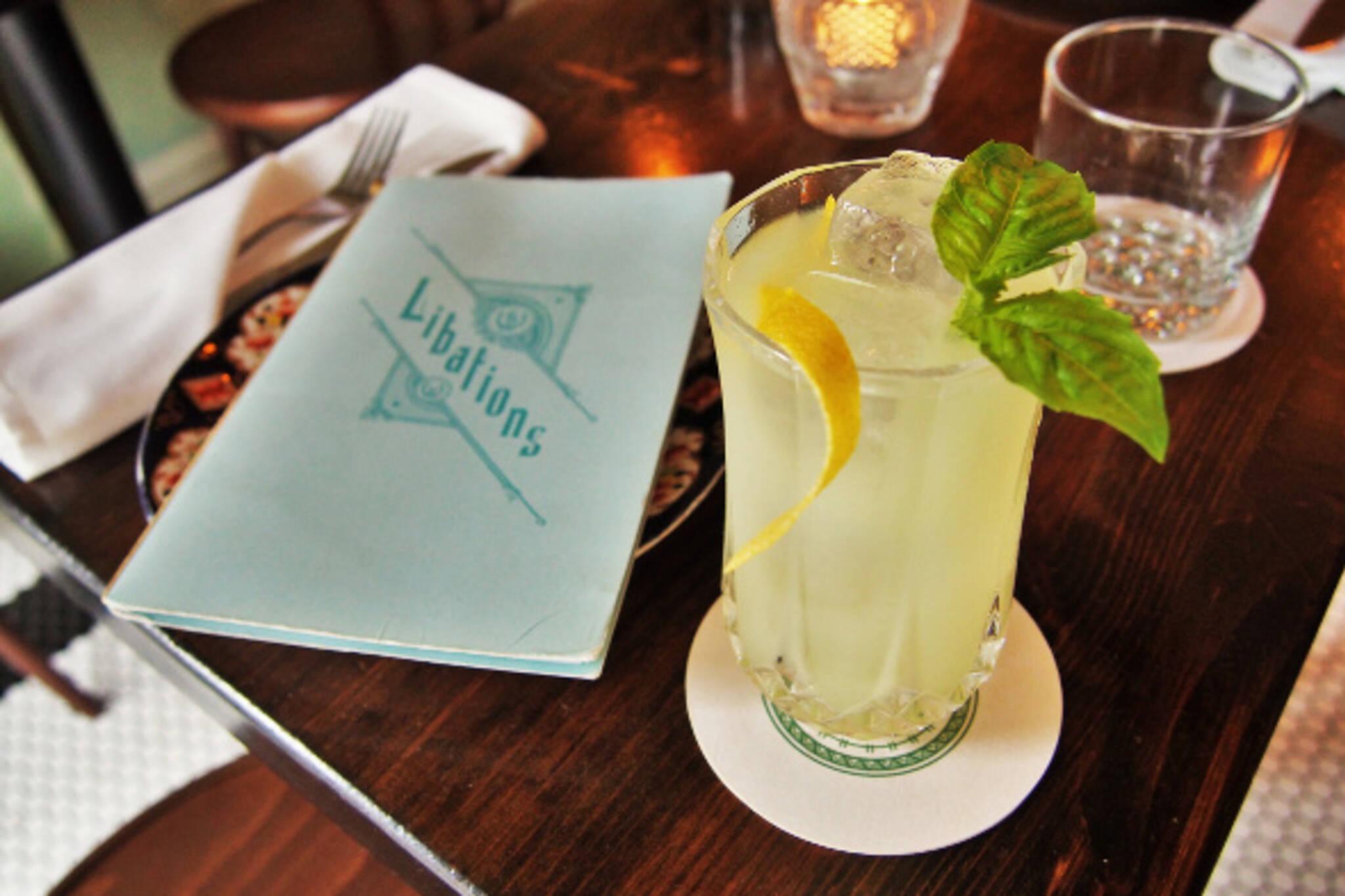 summer cocktails toronto