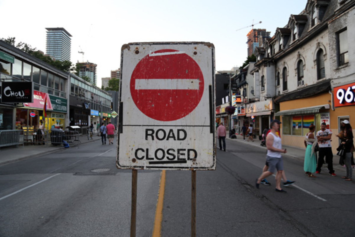 toronto road closures