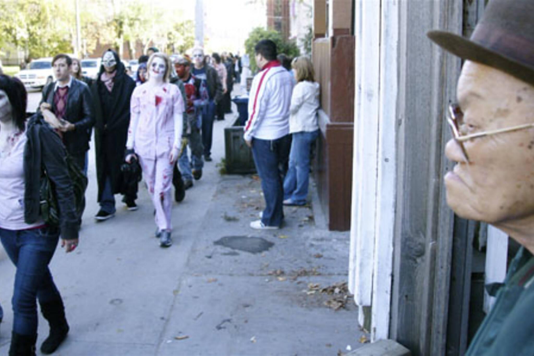 Toronto Zombie Walk 2008 in Toronto
