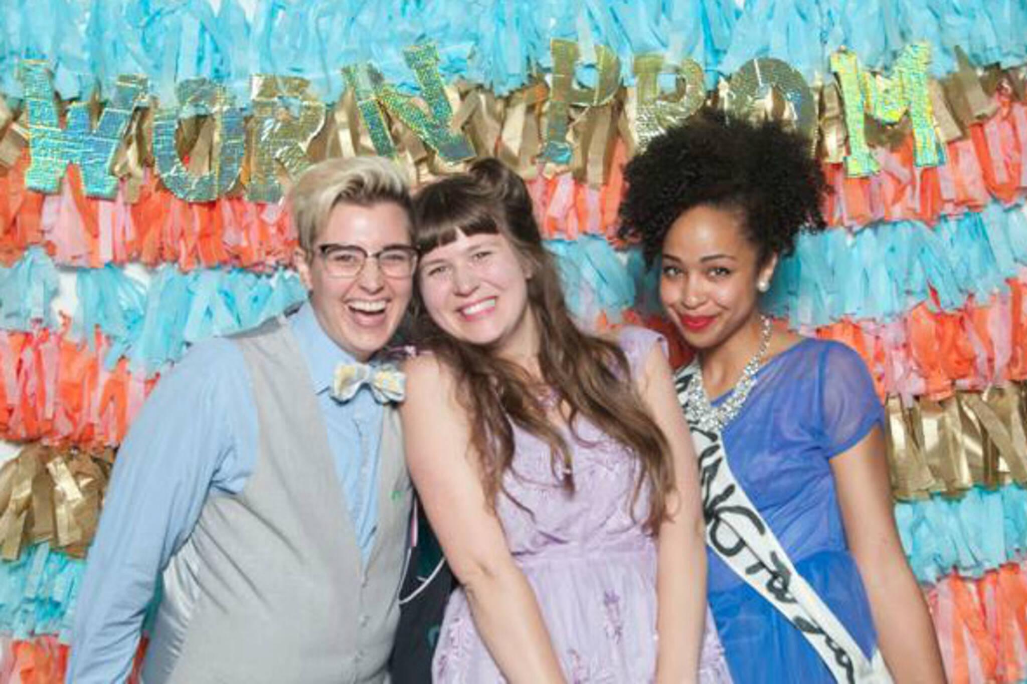 worn secondhand prom