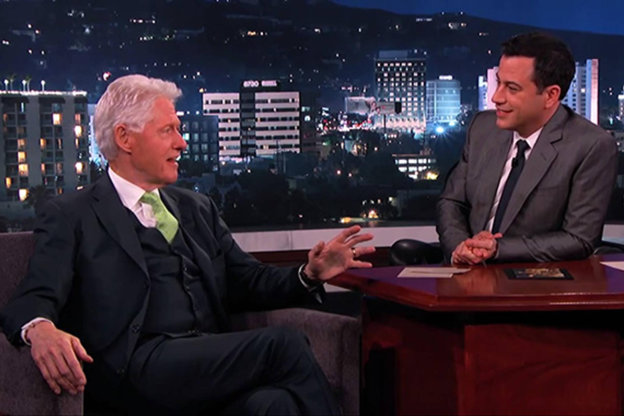 Bill Clinton Rob Ford