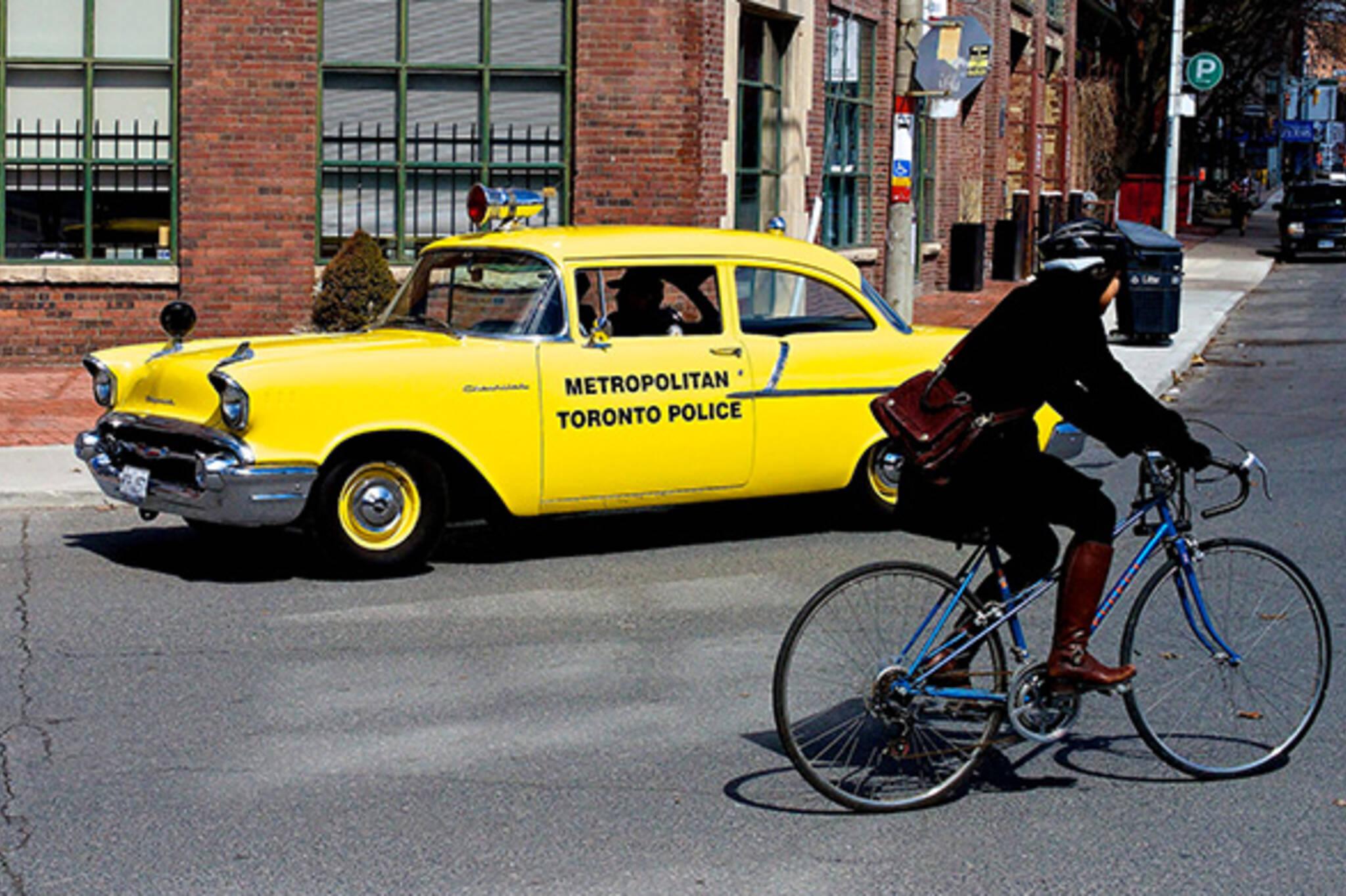 Vintage police car Toronto