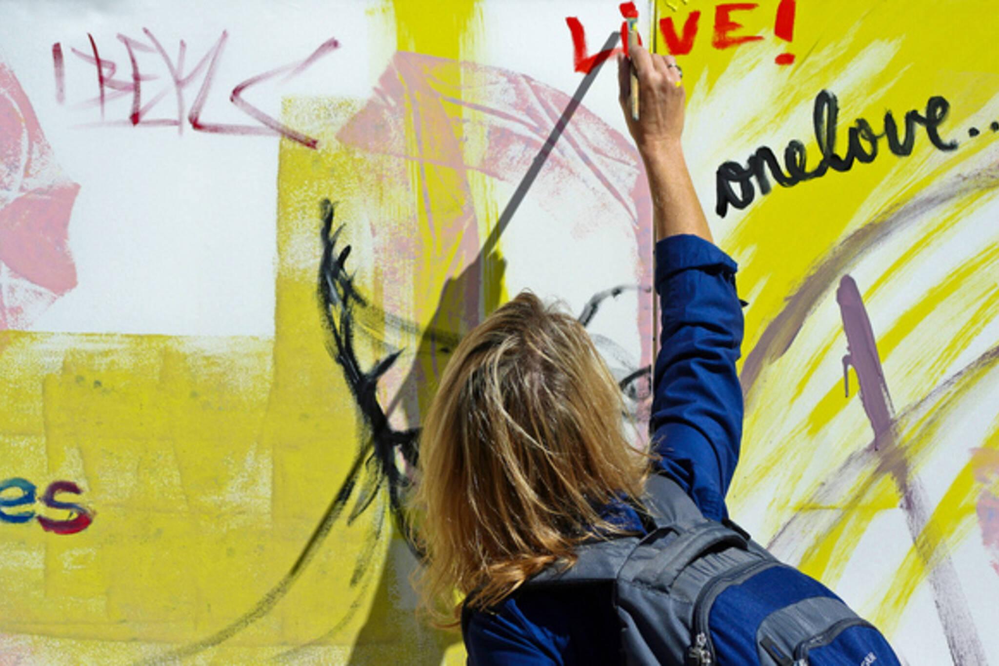 toronto graffiti wall