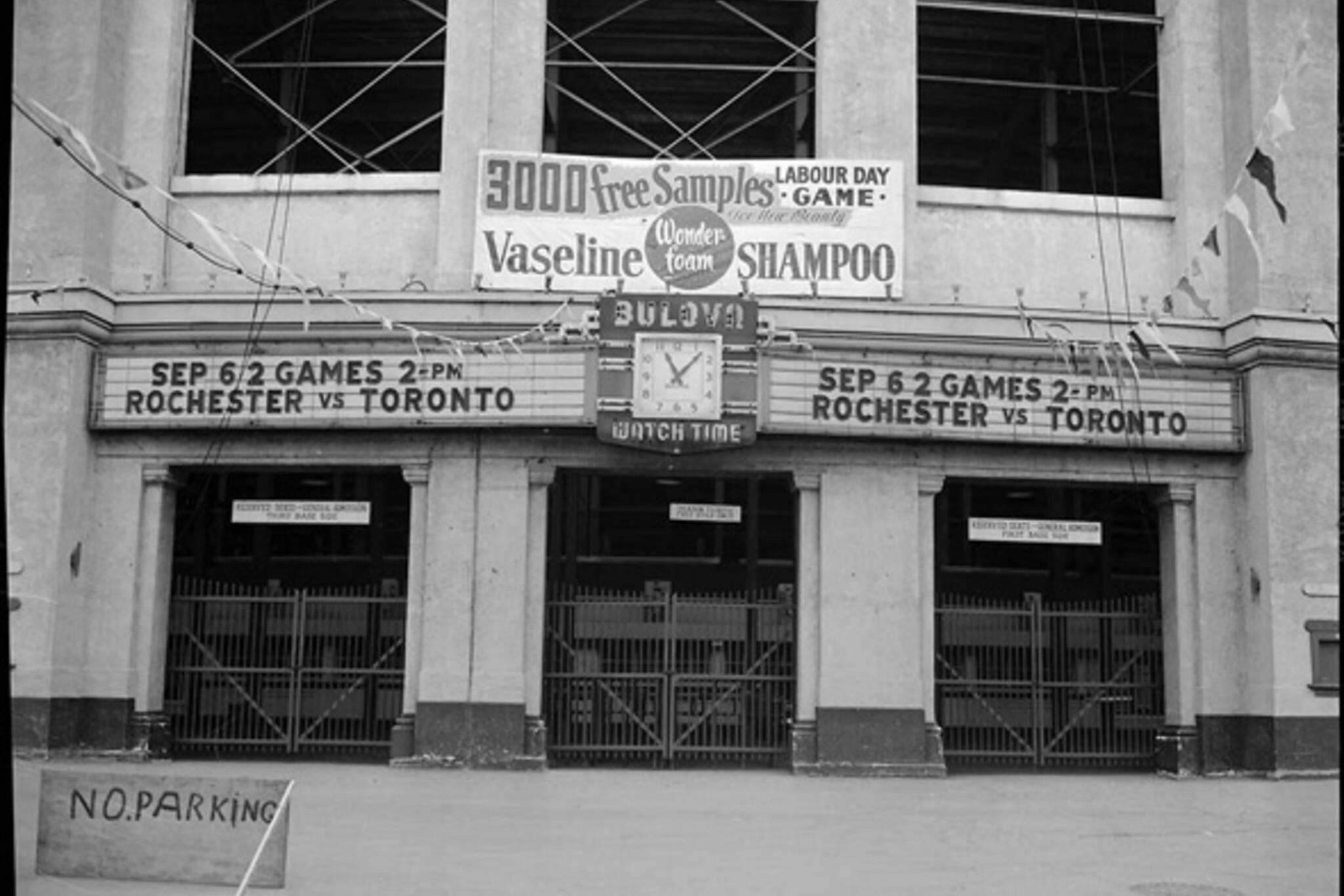 Toronto Sports Stadiums Historic
