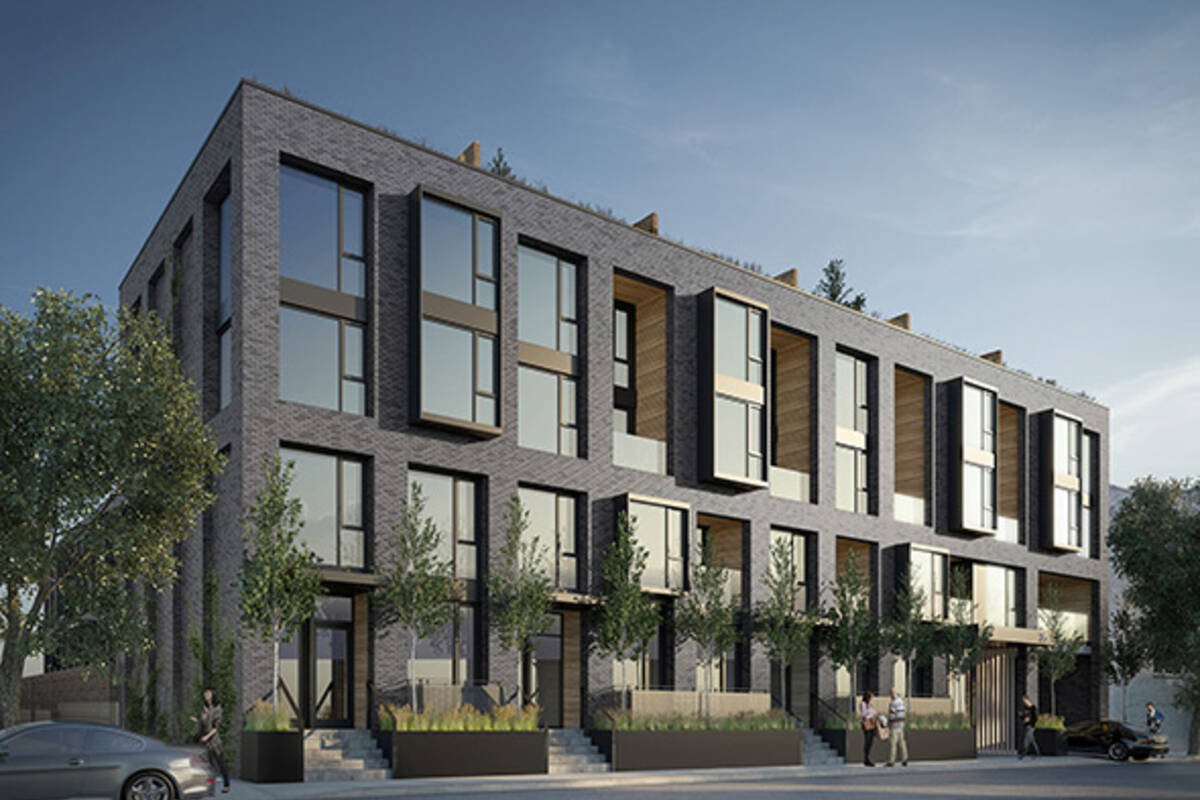 The top 5 new townhouse projects in toronto for Best townhouse design