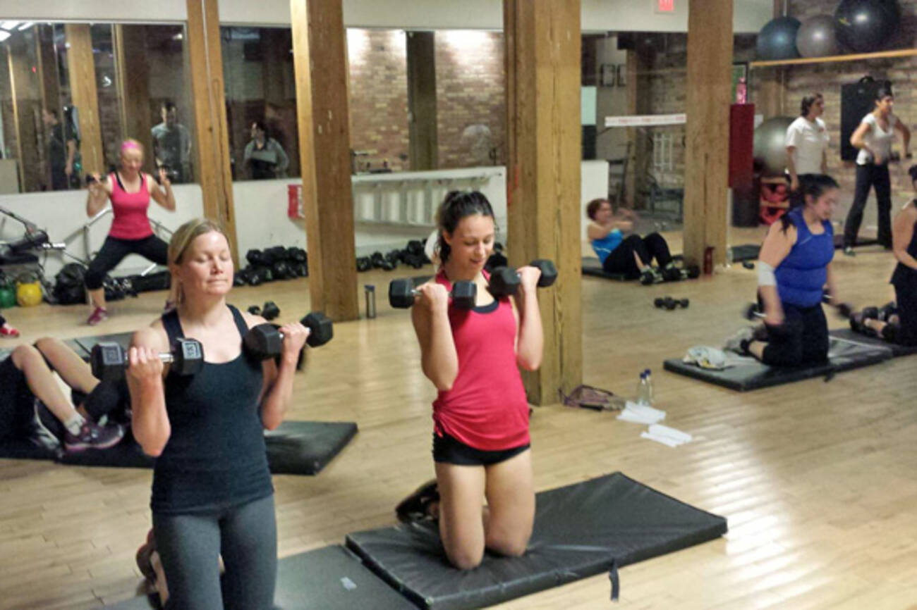 The Top 8 Fitness Bootcamps For Women In Toronto