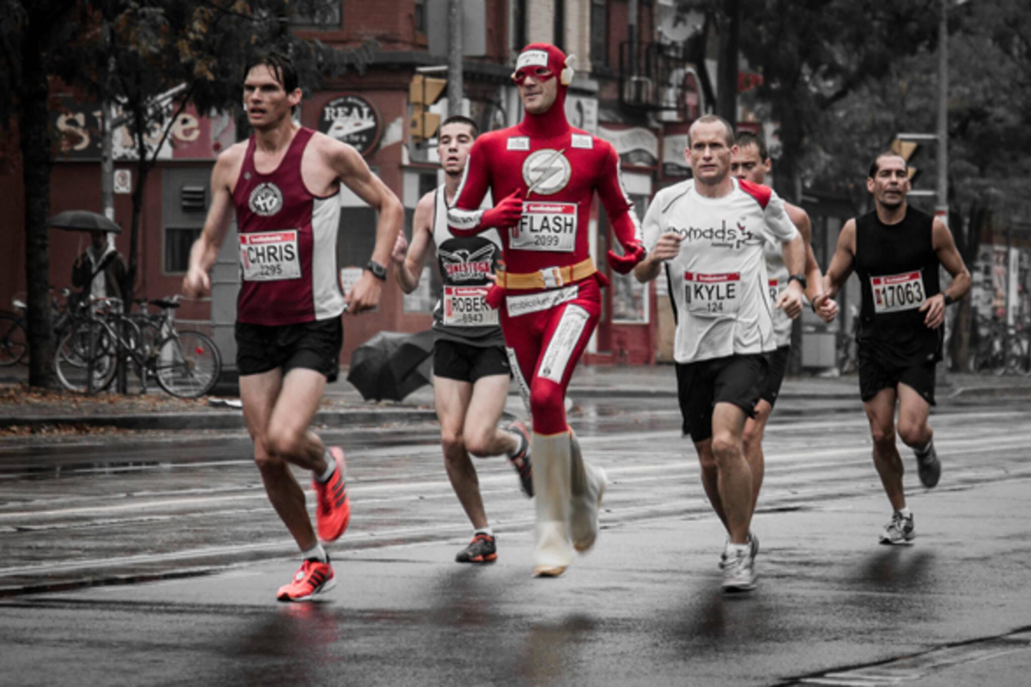 Running Toronto