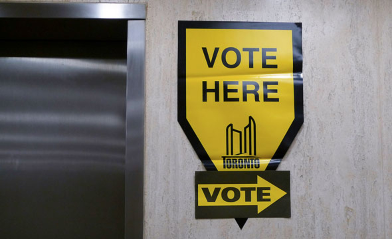 toronto mayor vote