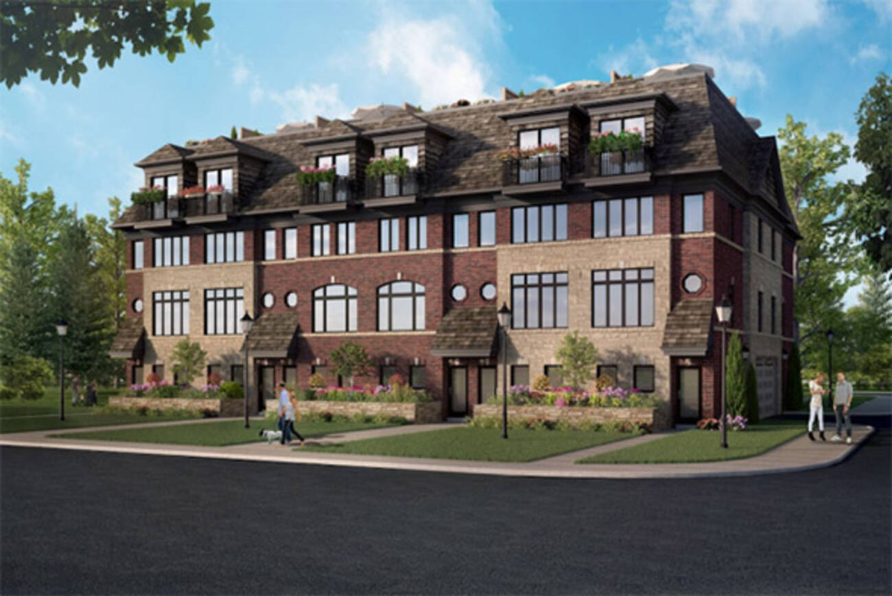 New in Toronto real estate The Ossington Townhomes