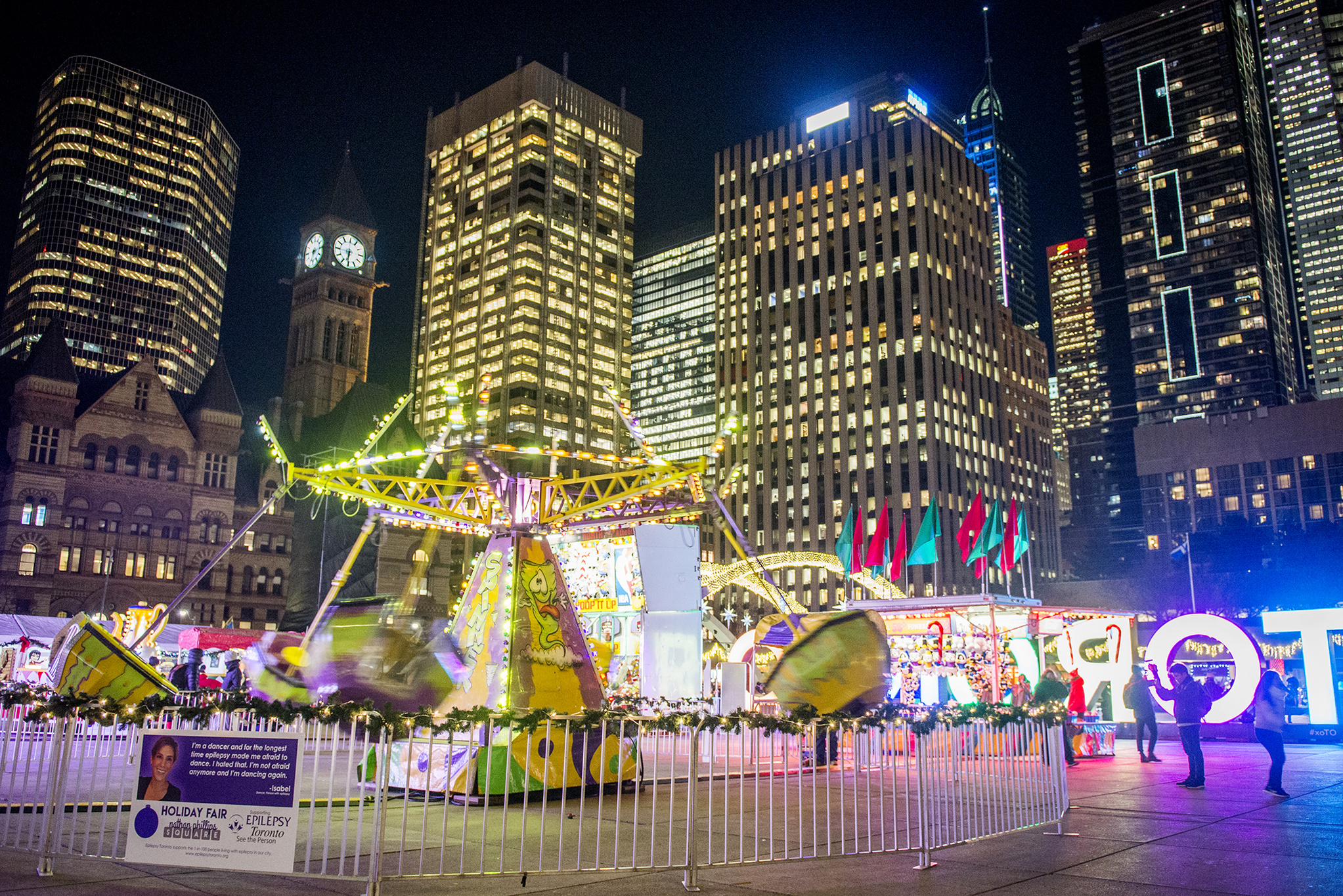 Here S What Toronto S Newest Christmas Market Looks Like