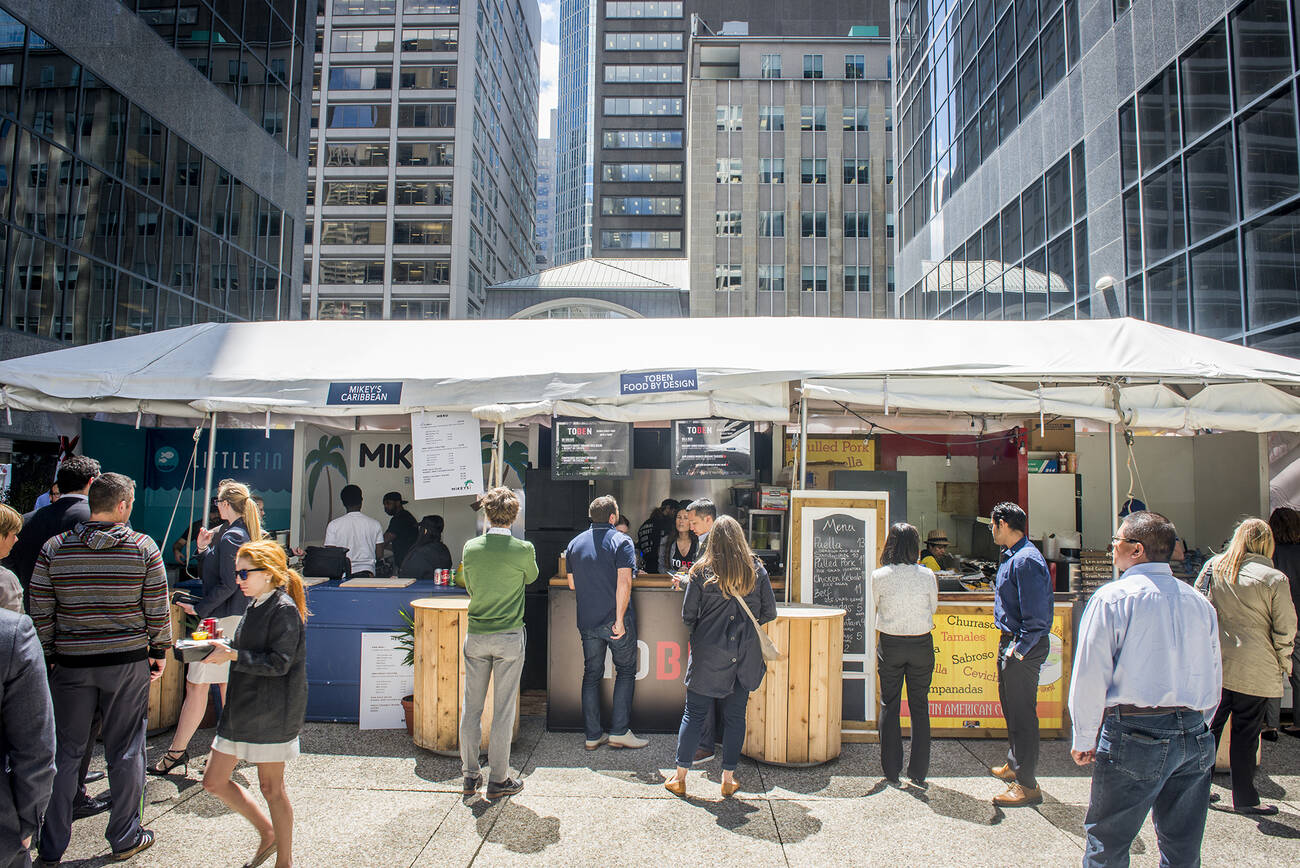15 great eats from toronto 39 s new outdoor food market for Outdoor food market