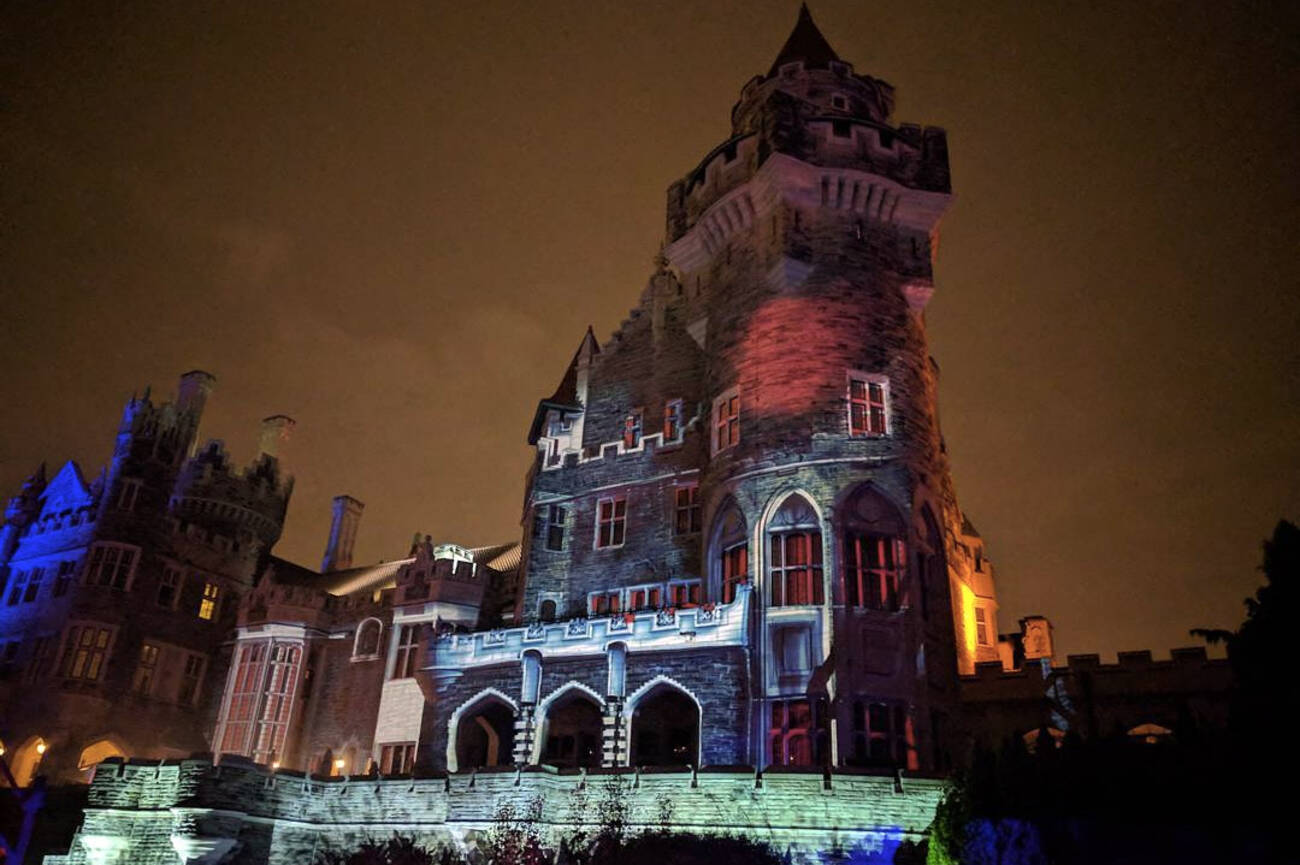 casa loma 39 s haunted house is as spooky as ever