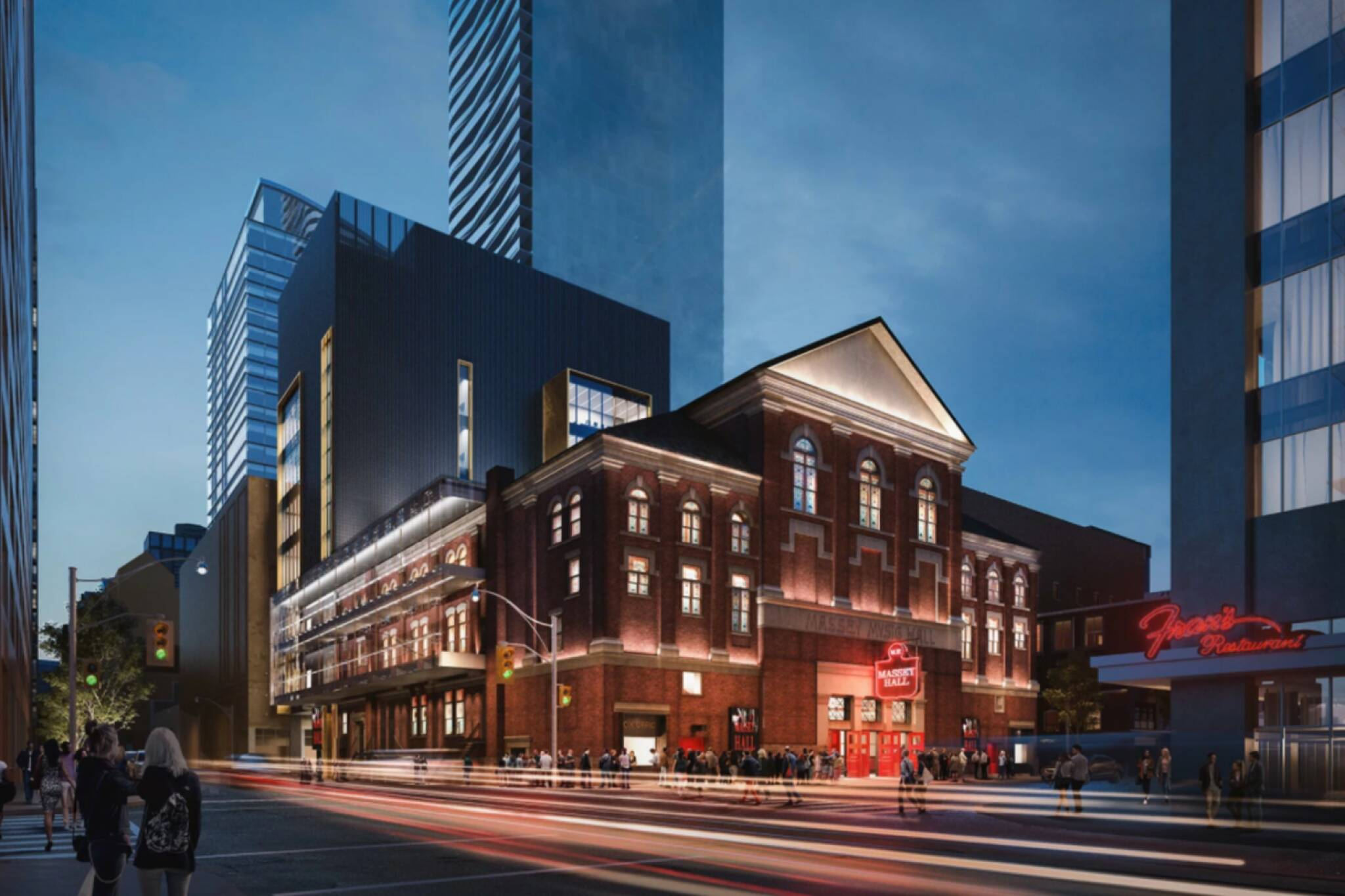 massey hall renovation