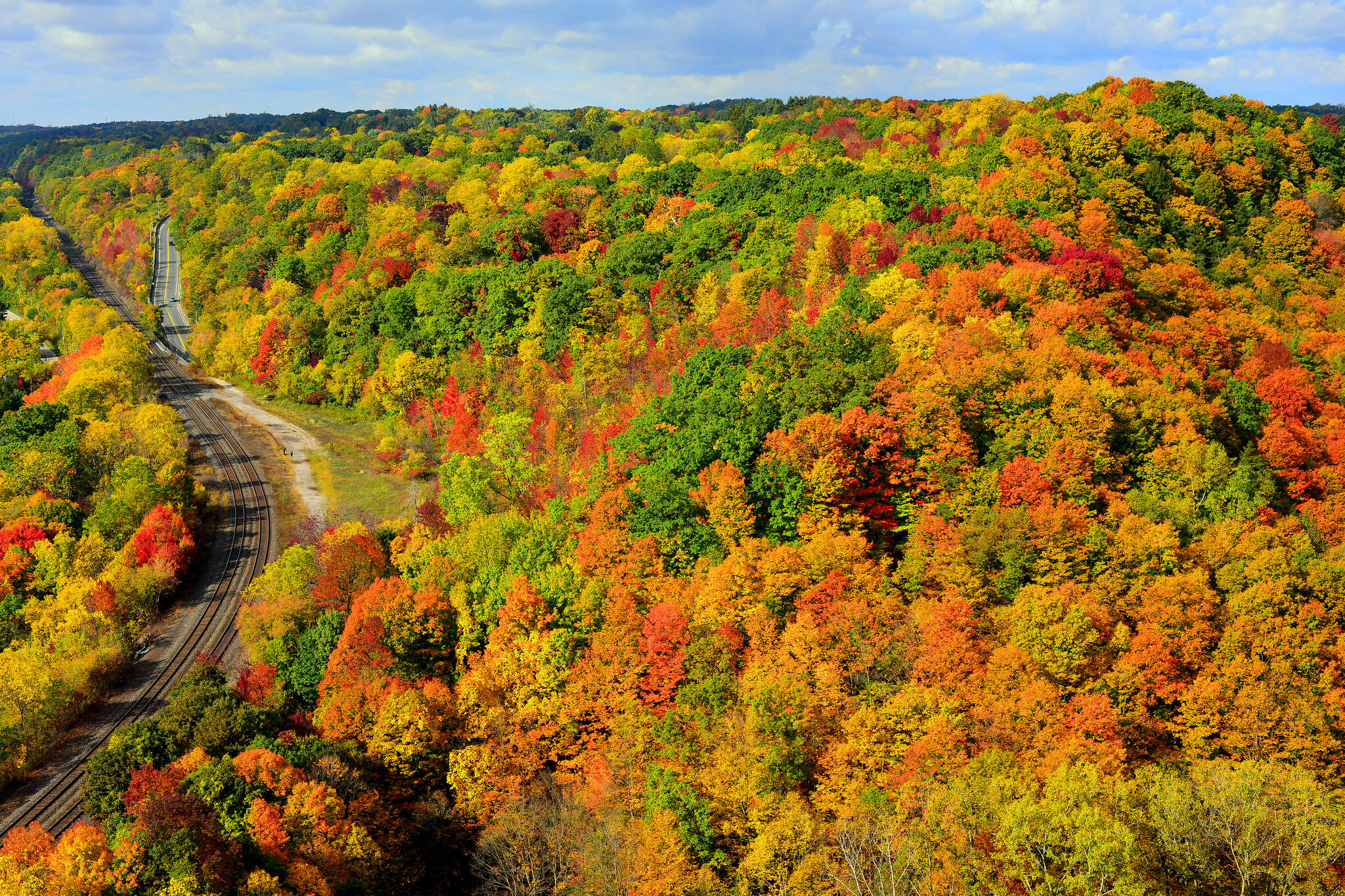 fall day trips toronto