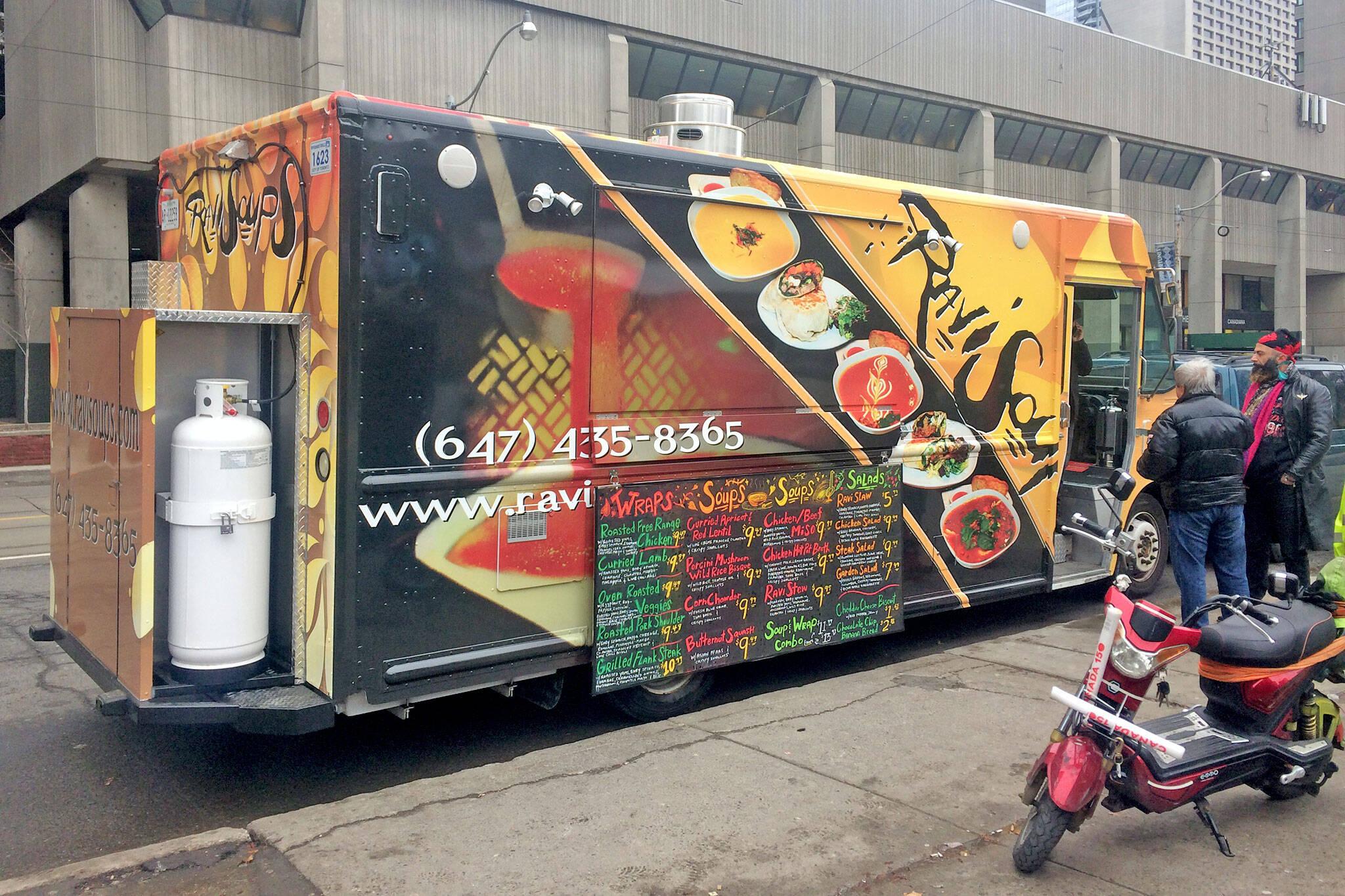Ravi Soup Food Truck
