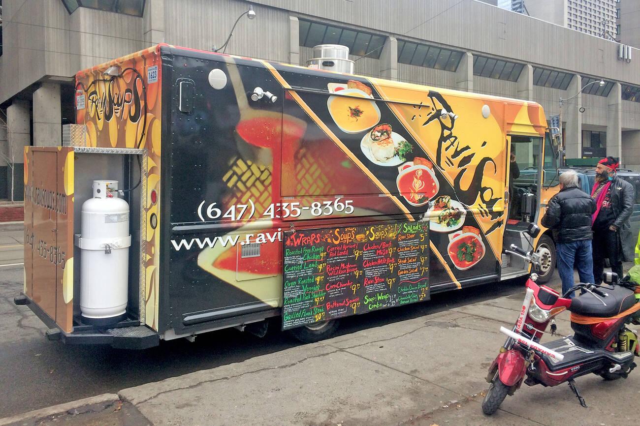 Ravi Soups Food Truck