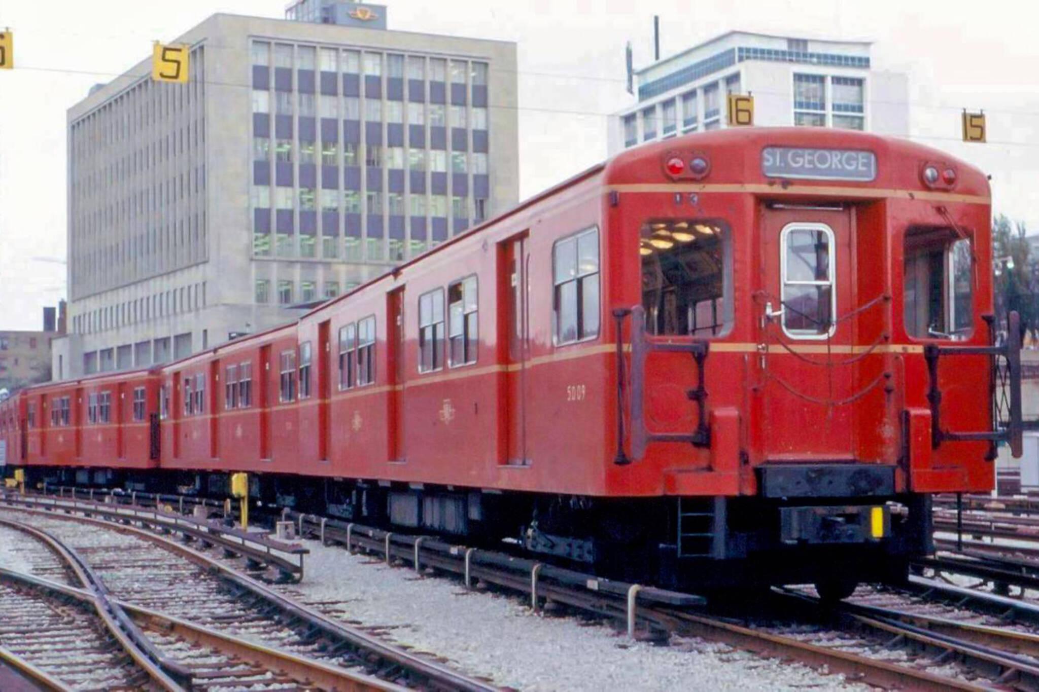 TTC history Toronto