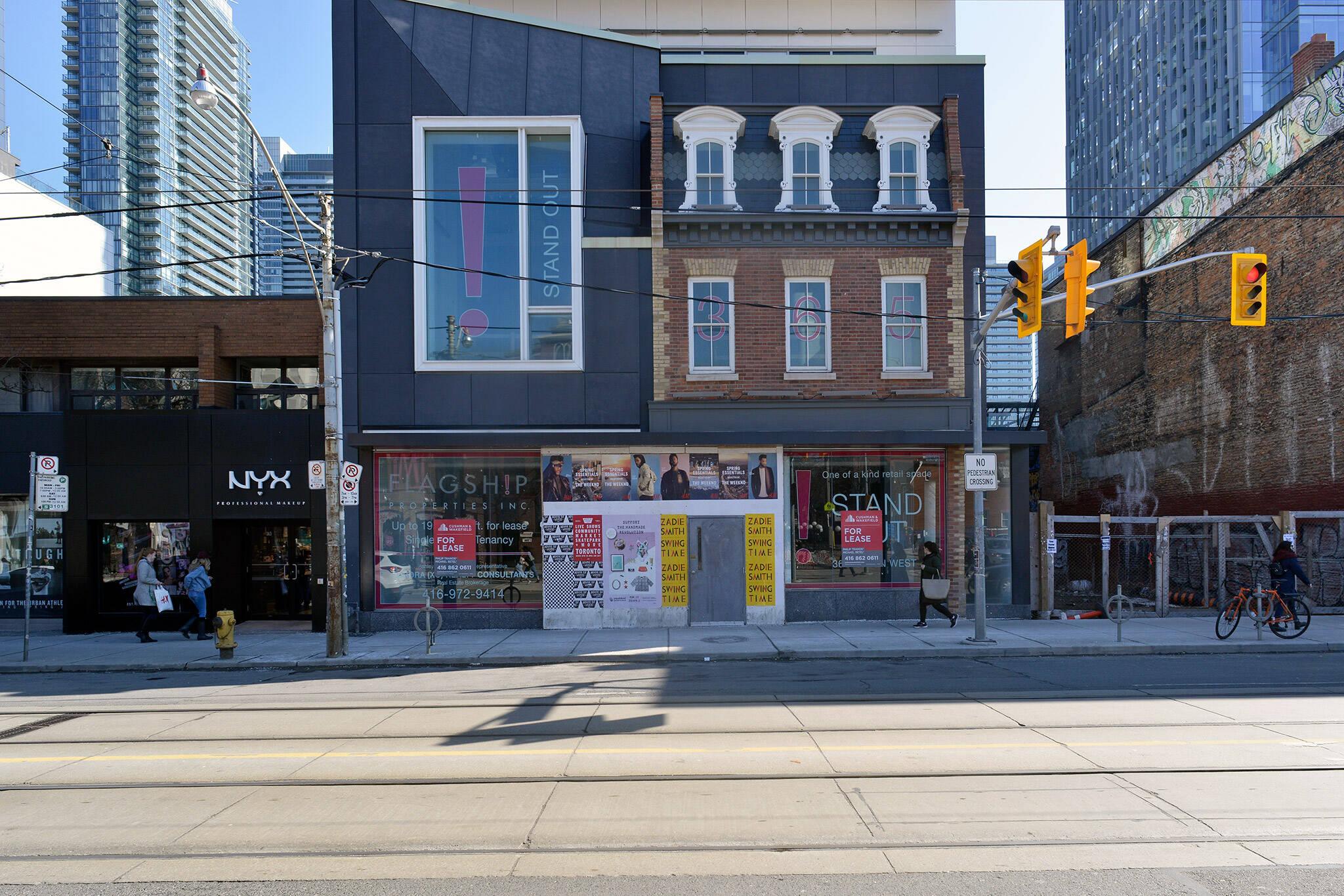 queen street west retail space