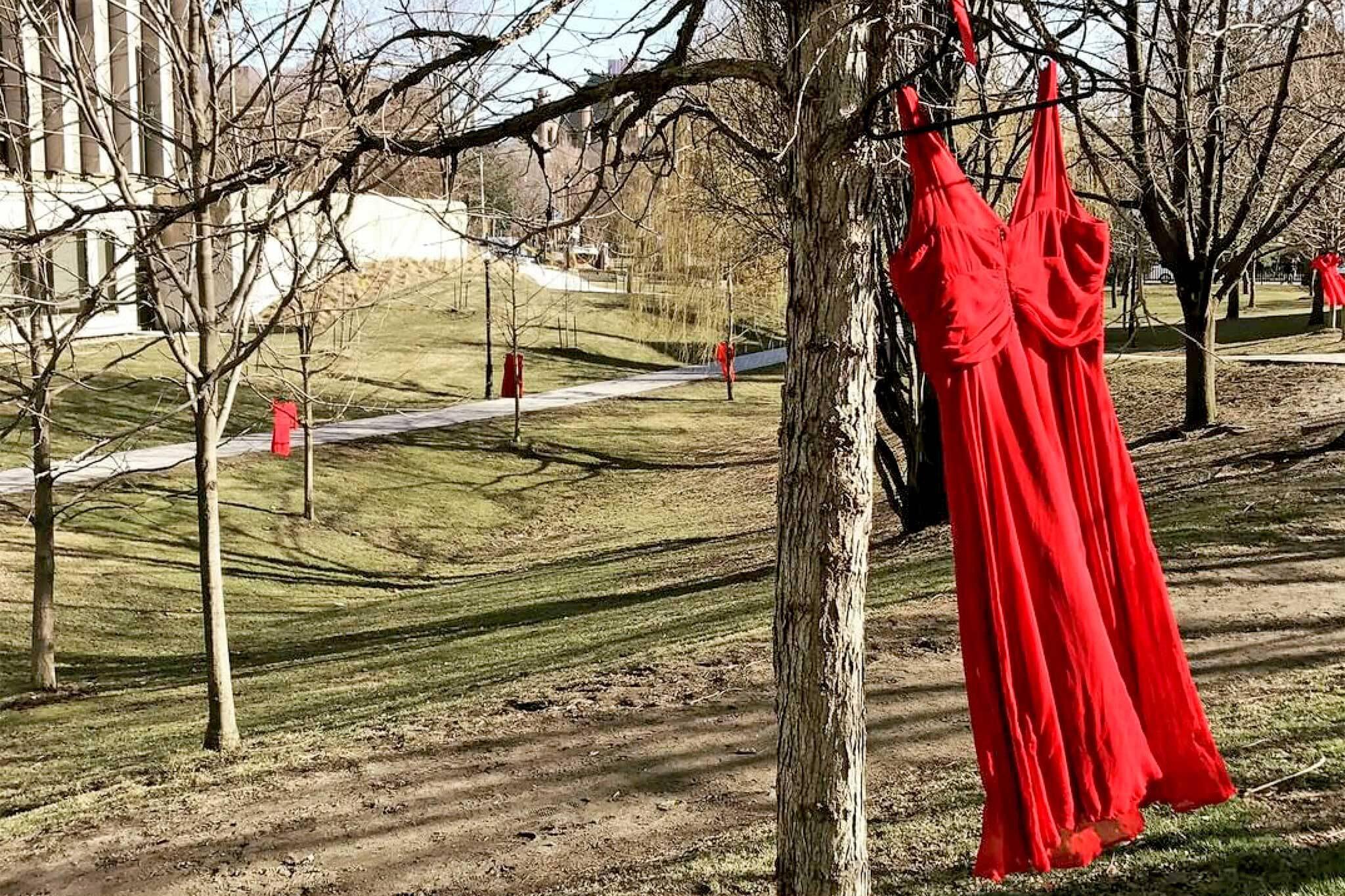 red dress toronto