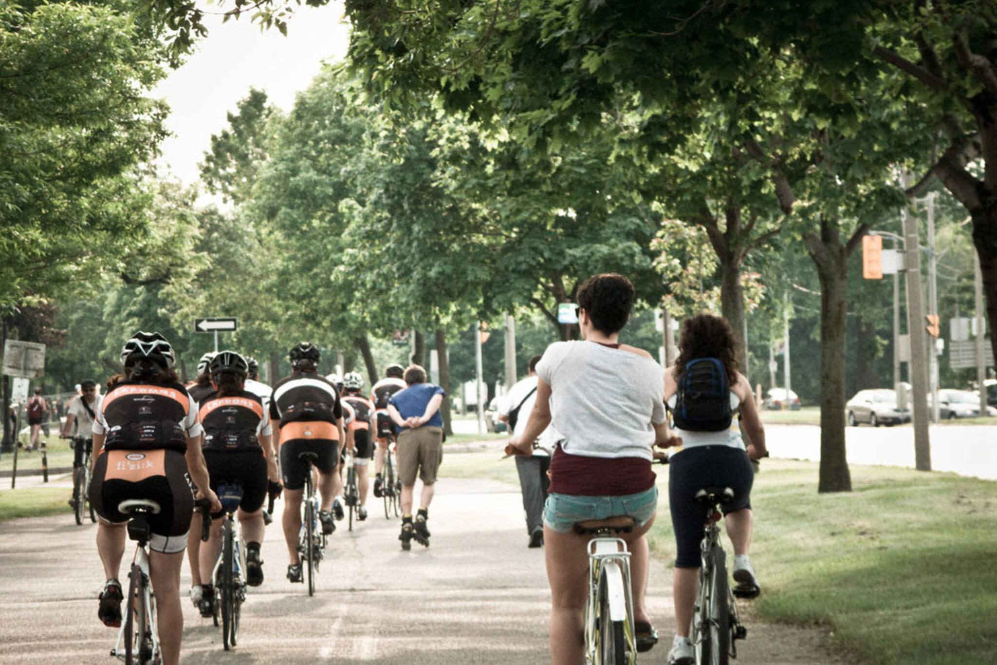 Bike paths toronto