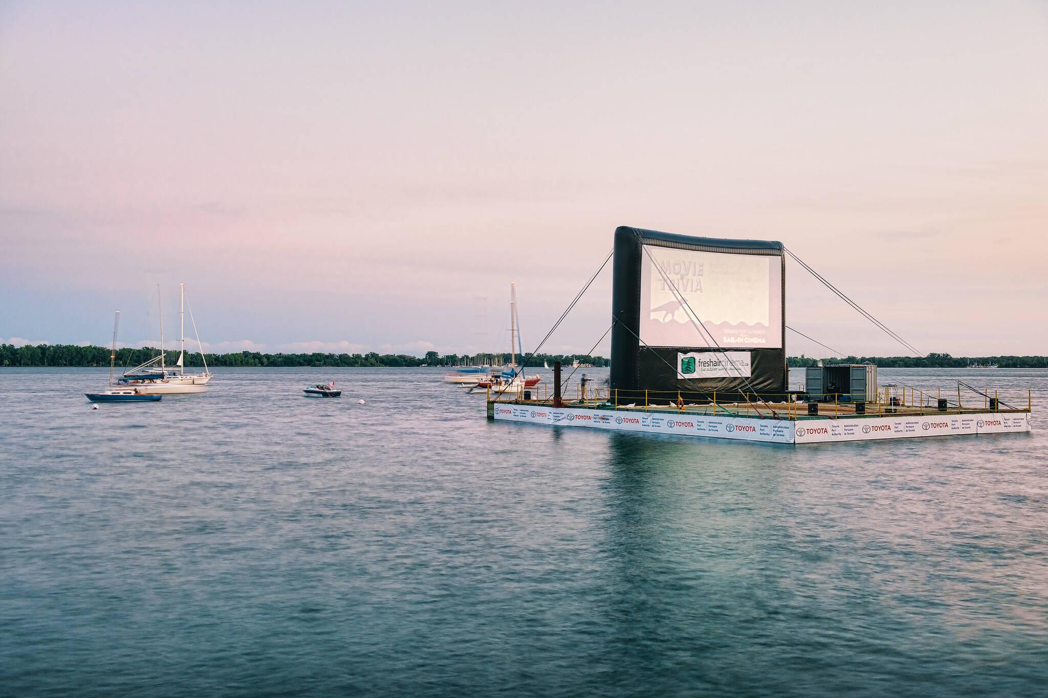 movies water toronto