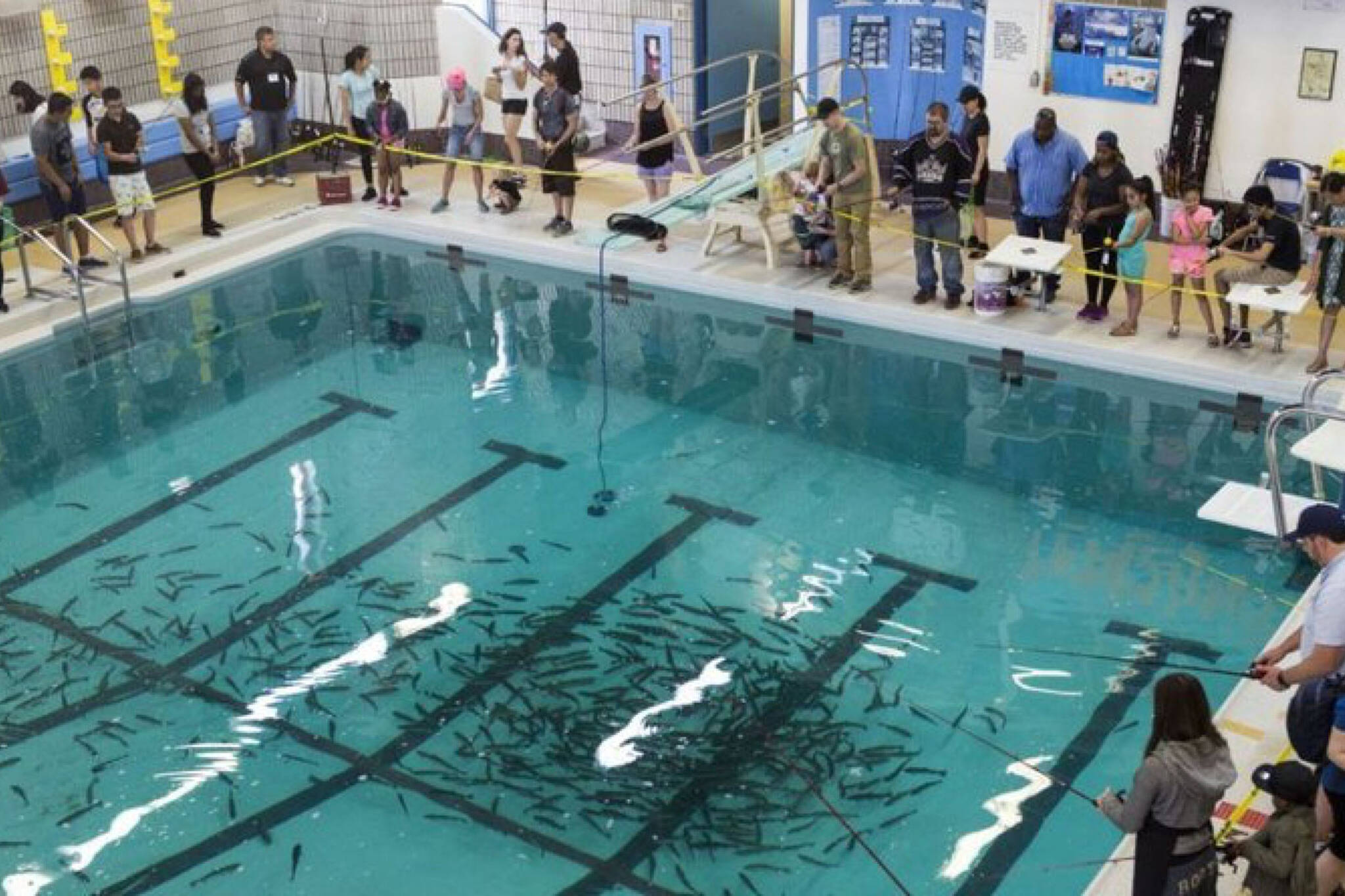 Indoor fishing returns to toronto this weekend for Fairbank swimming pool toronto