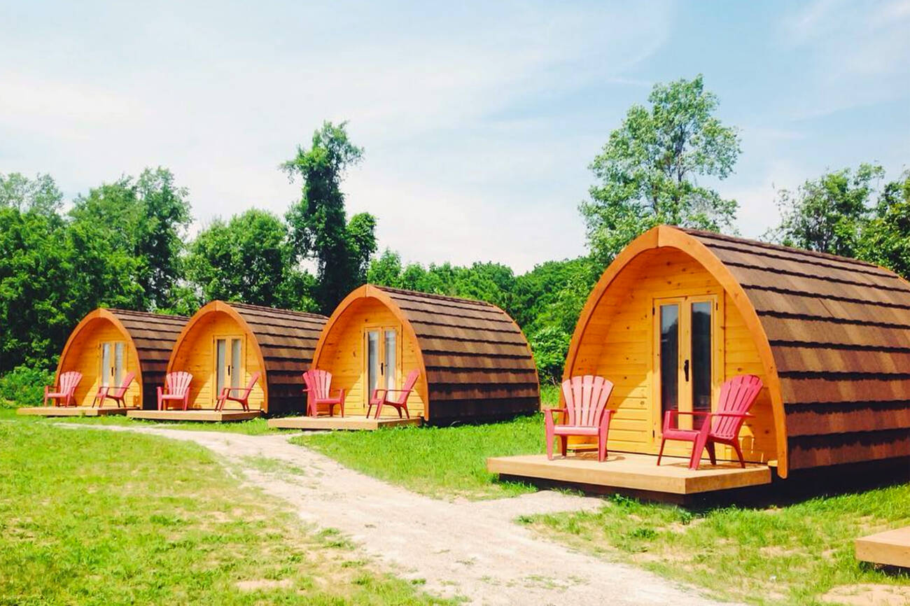 This Wilderness Pod Resort Is Two Hours From Toronto