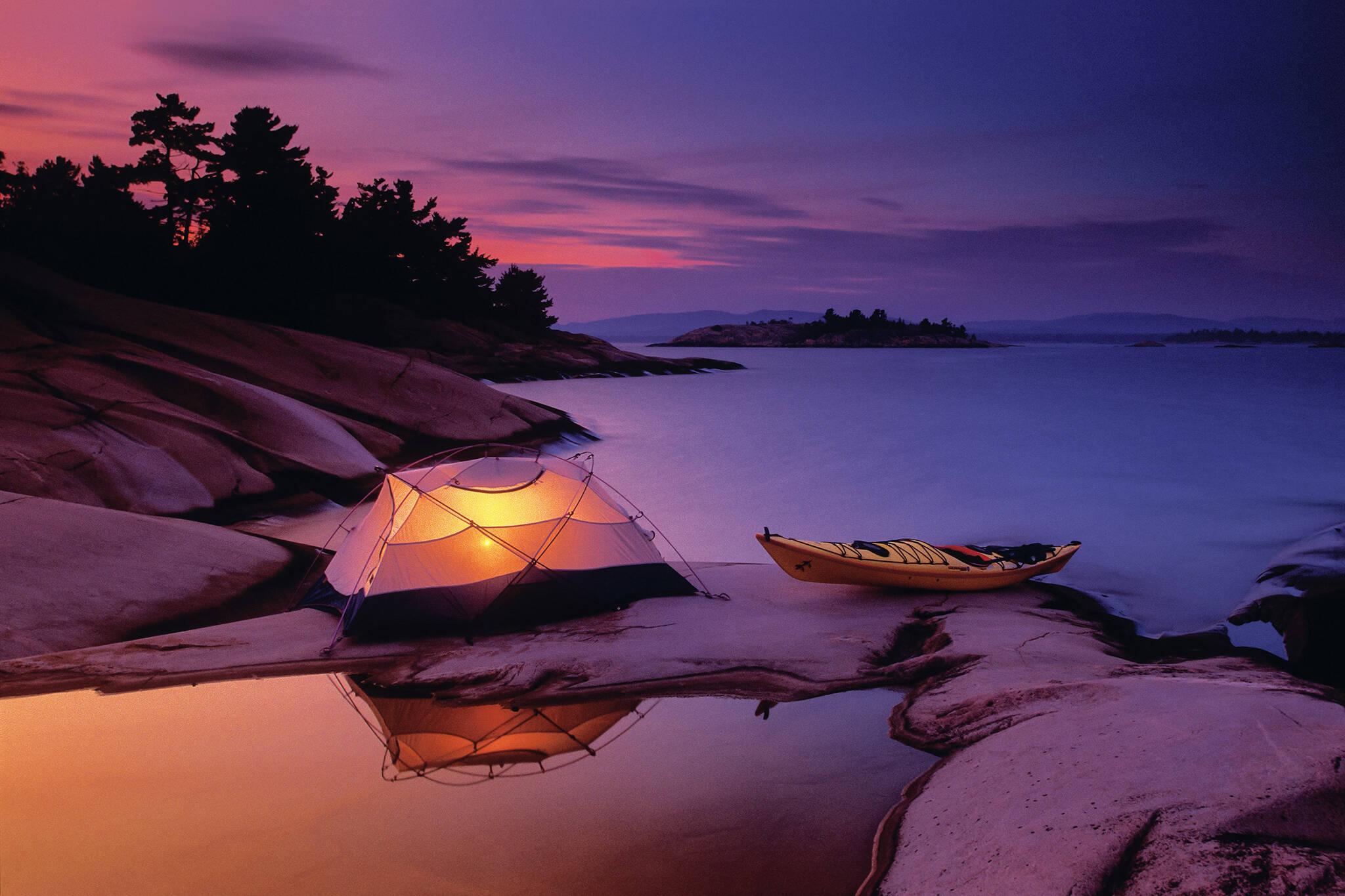 ontario campsites
