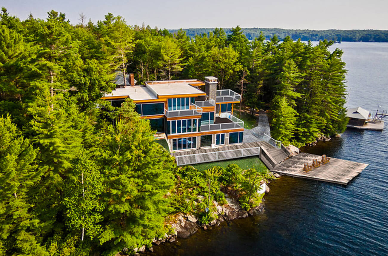 What A 10 Million Private Island Playground In Muskoka