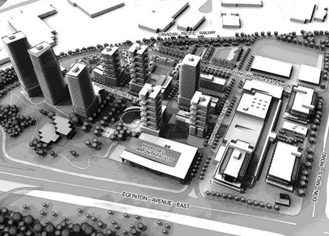 Celestica redevelopment toronto