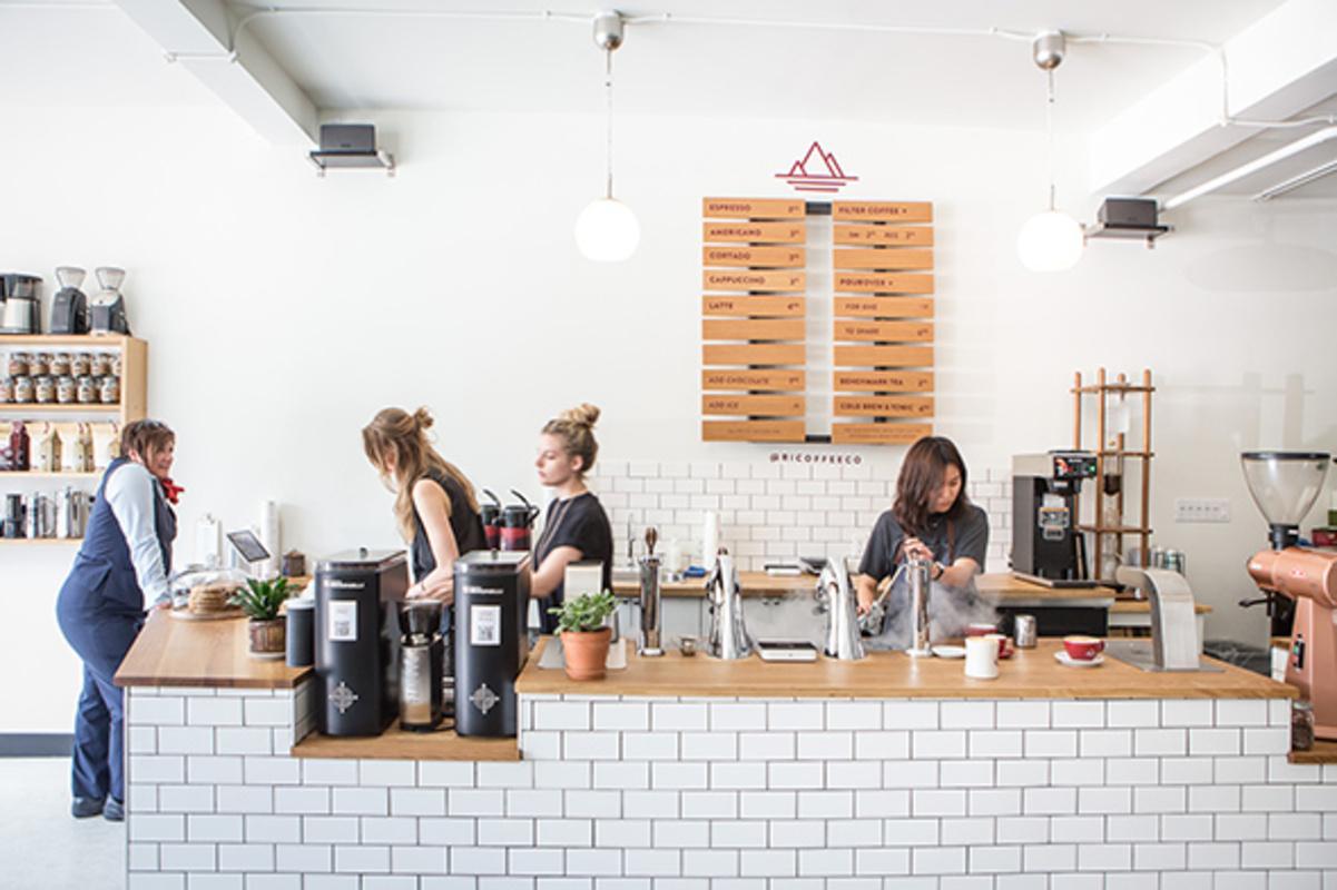 toronto cafes west side