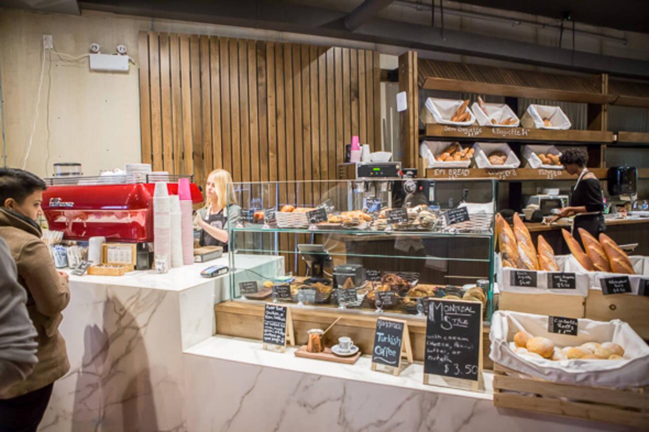 Bakery Cafe Floor Plan