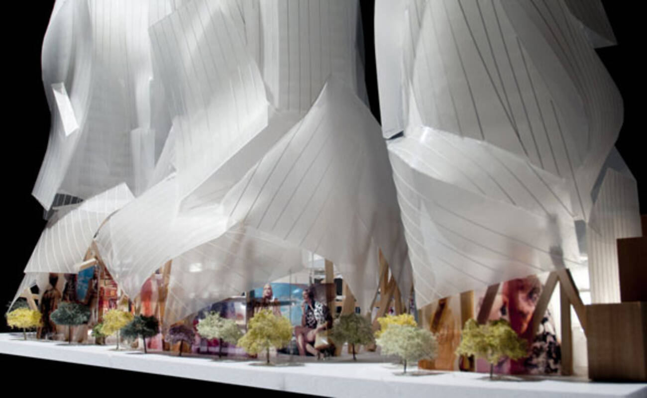 Frank Gehry unveils ne...