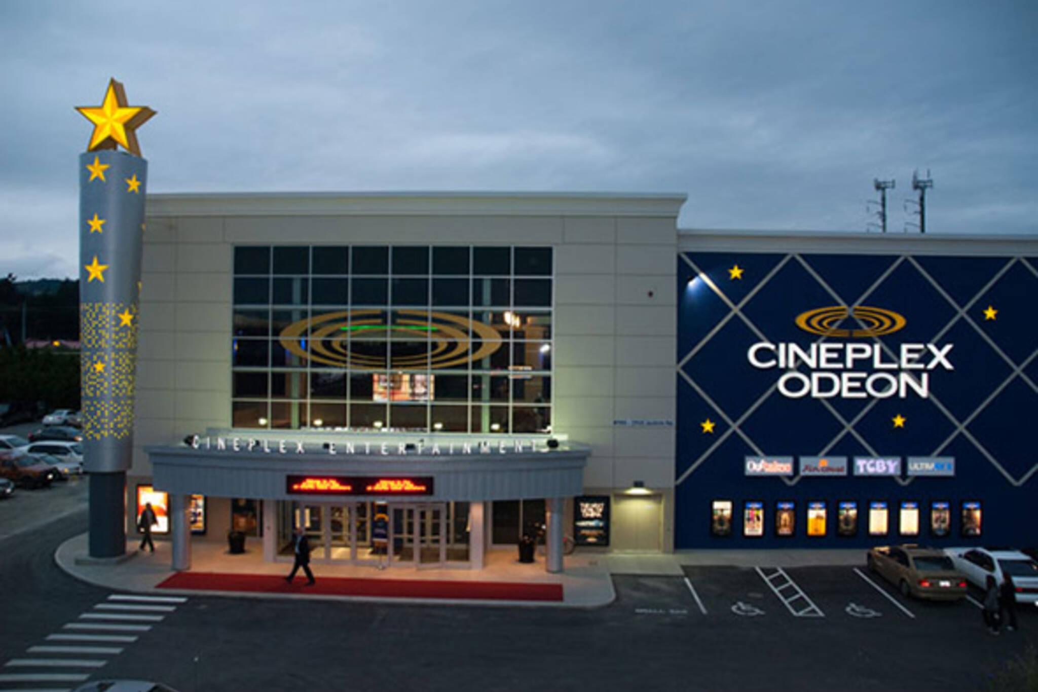 Cineplex Odeon prices