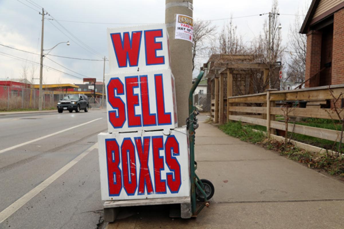 toronto moving boxes