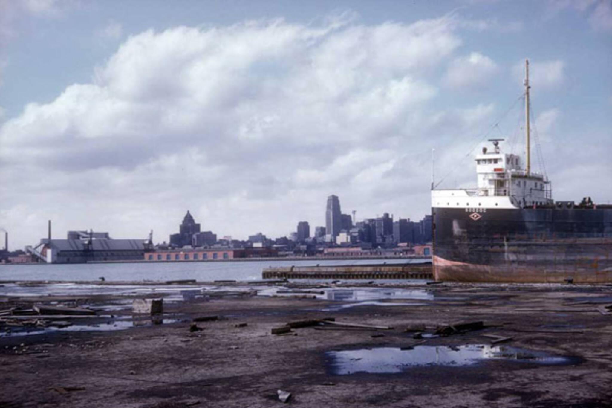 Toronto harbour history