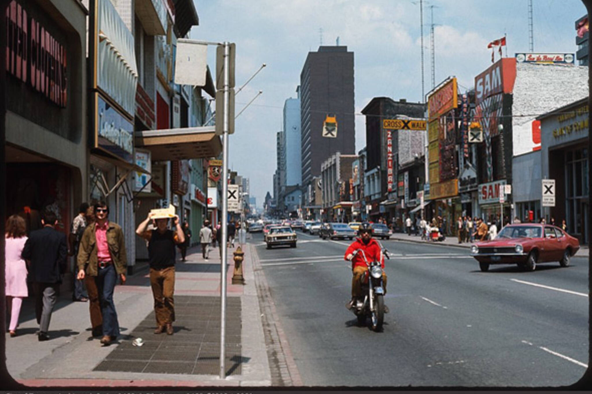What Yonge Street Used To Look Like In Toronto