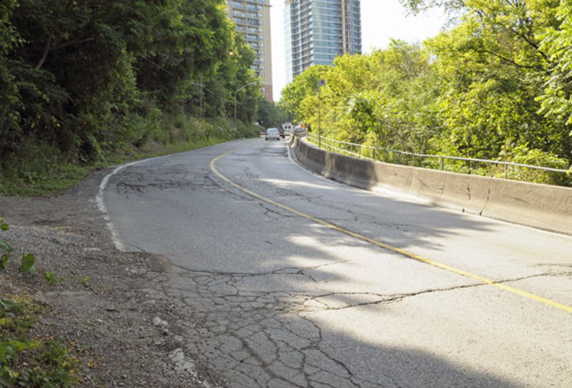 Pottery Road Hill Toronto