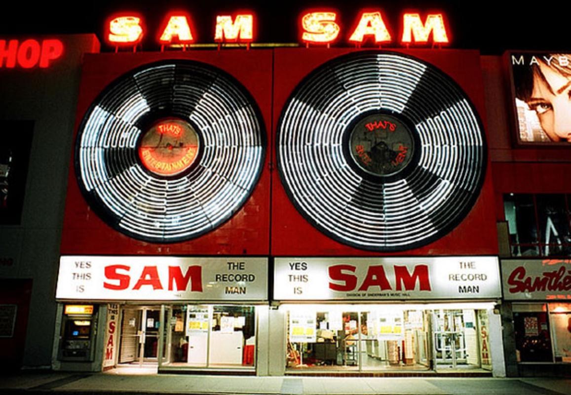 toronto sam the record man