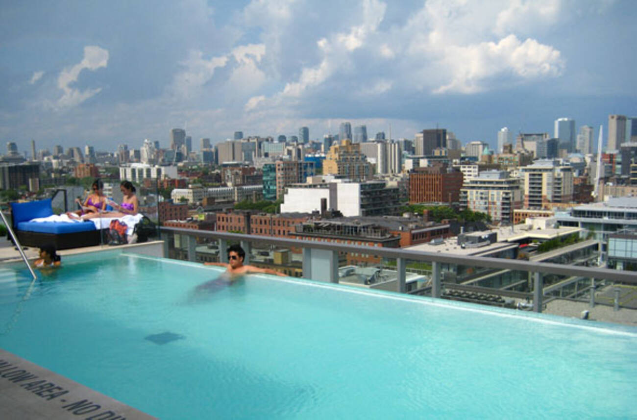 The Top Five Hotel Swimming Pools In Toronto
